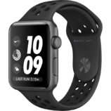 Apple Watch Series 3 Nike+ 42mm GPS Space Gray Aluminum Case with Anthracite/Black Nike Sport Band (MQL42)