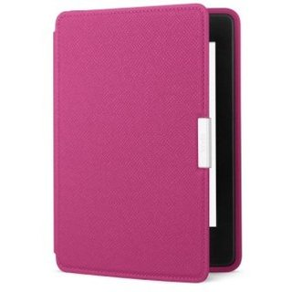 Amazon Leather Cover Fuchsia for Kindle Paperwhite