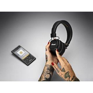 Наушники и гарнитура Marshall Major II Bluetooth Black (4091378 ... 6c64aca4311a1
