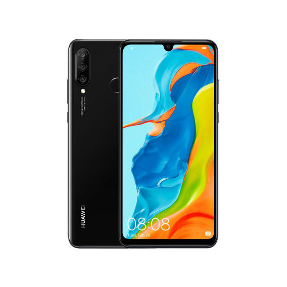 Смартфон Huawei P30 Lite 4/128Gb Dual Midnight Black