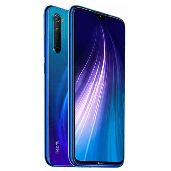 Смартфон Xiaomi Redmi Note 8 4/64GB Neptune Blue (Global)