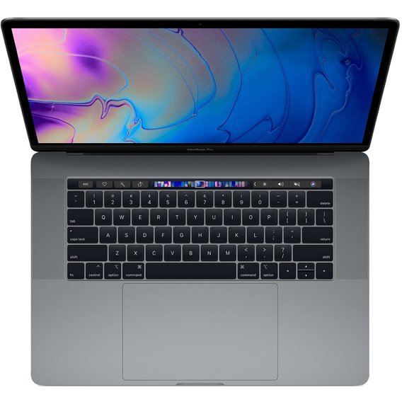 Apple MacBook Pro 15 Retina Space Gray with Touch Bar (MR942) 2018
