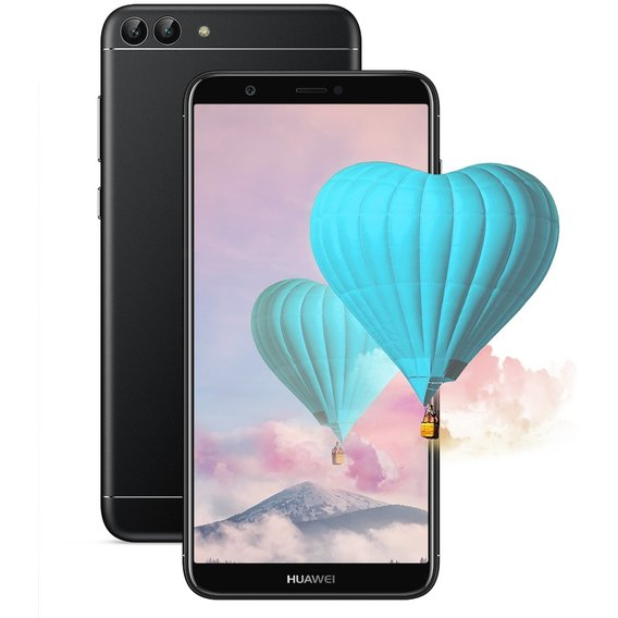 Смартфон Huawei P Smart 3/32GB Dual Black