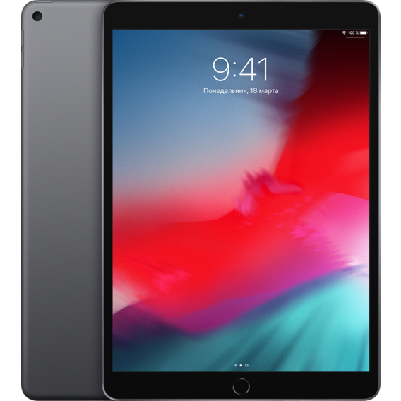 Планшет Apple iPad Air Wi-Fi 64GB Space Gray (MUUJ2) 2019