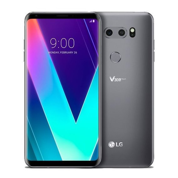 Смартфон LG V30S+ ThinQ 6/256GB Dual Platinum Gray