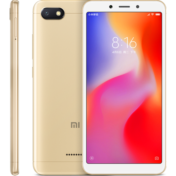 Смартфон Xiaomi Redmi 6A 2/32GB Gold (Global)