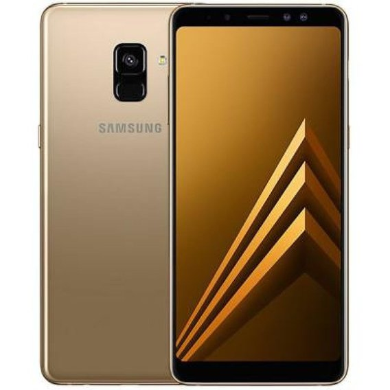 Смартфон Samsung Galaxy A8 Plus 2018 6/64Gb Duos Gold A730F