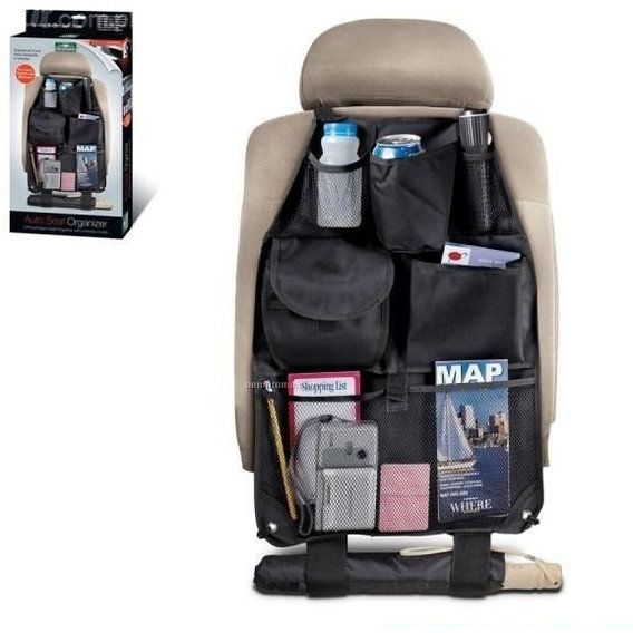 Meridian Point Auto Back Seat Organizer with 6 Pockets