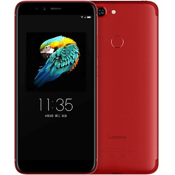 Смартфон Lenovo S5 3/32Gb Dual SIM Red