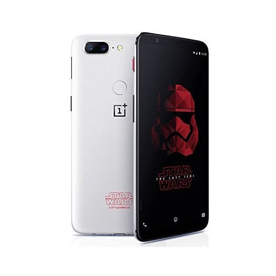 Смартфон OnePlus 5T 8/128GB Star Wars Limited Edition White