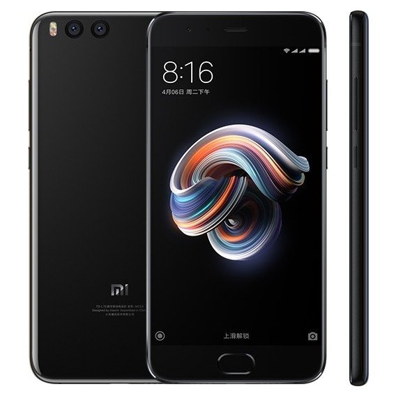 Смартфон Xiaomi Mi Note 3 6/128GB Black