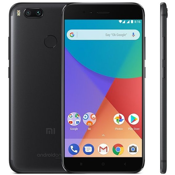 Смартфон Xiaomi Mi A1 4/64Gb Black (Global)