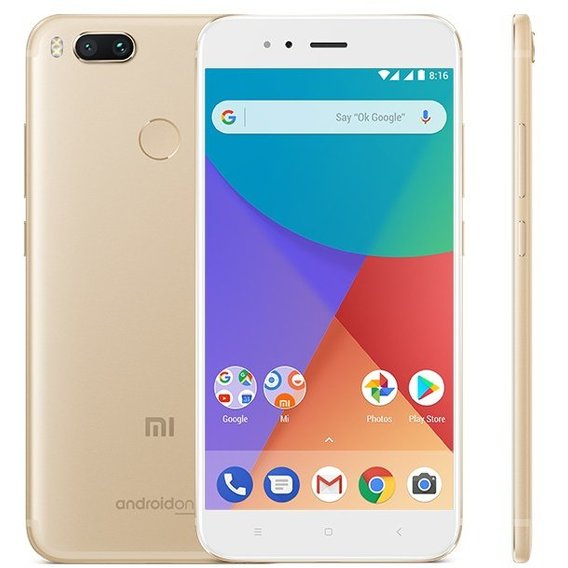 Смартфон Xiaomi Mi A1 4/64Gb Gold (Global)