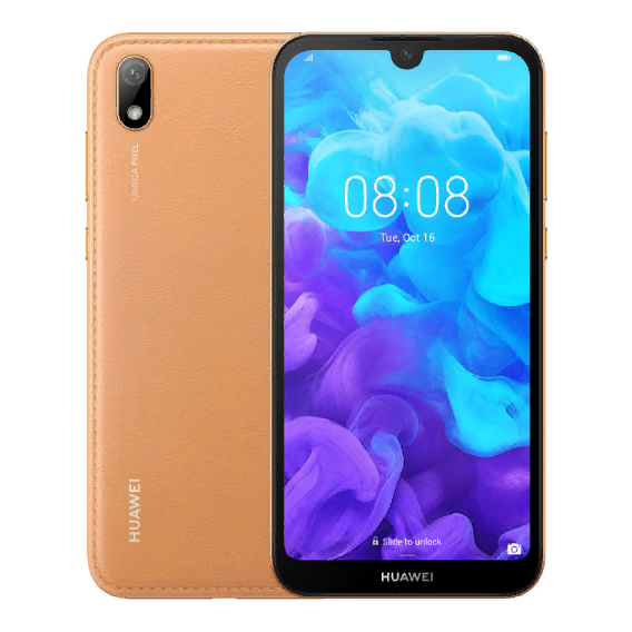 Смартфон Huawei Y5 2019 2/16GB Dual Brown Faux Leather (UA UCRF)