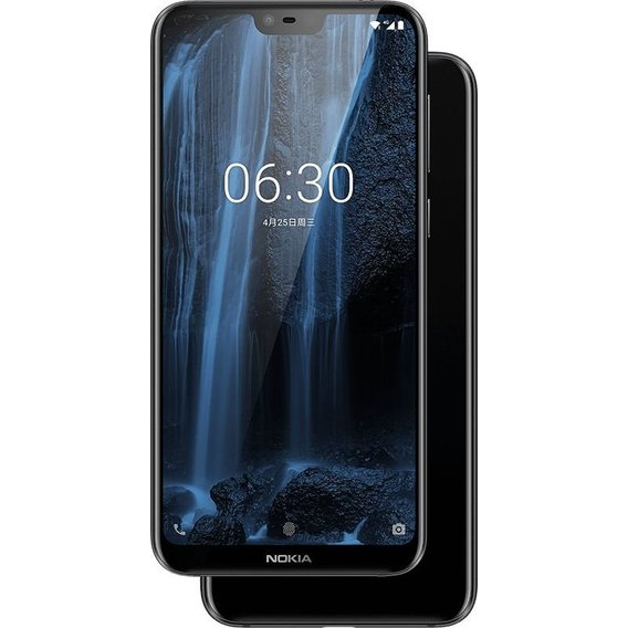 Смартфон Nokia X6 6/64GB Black