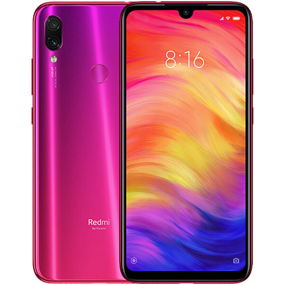 Смартфон Xiaomi Redmi Note 7 4/64GB Twilight Gold (Nebula Red)