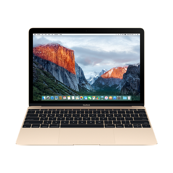"Apple MacBook 12"" 512GB Gold (MLHF2) 2016"
