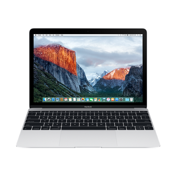 "Apple MacBook 12"" 256GB Silver (MLHA2) 2016"