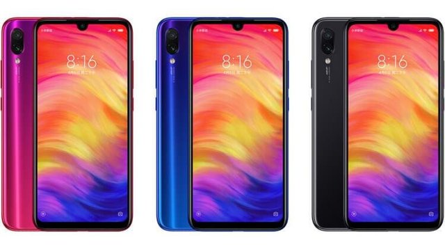 цвета Xiaomi Redmi Note 7 3 32Gb